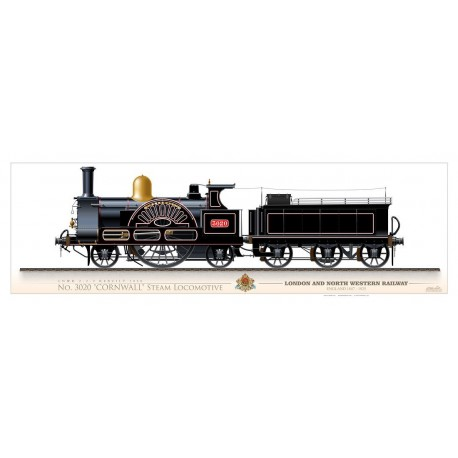 "LNWR ""Cornwall"" Steam Locomotive AGP-06"