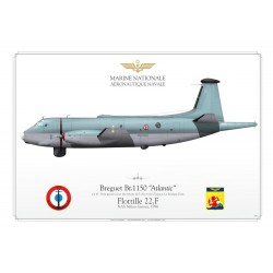 "Br.1150 ""Atlantic"" 61 Marine Nationale JP-413"