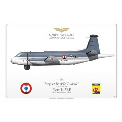 "Br.1150 ""Atlantic"" 54 Marine Nationale JP-412"