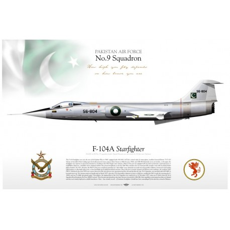 "F-104A ""Starfighter"" PAF TC-130"