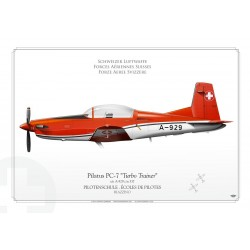 "PC-7 ""Turbo Trainer"" A-929 Swiss LW-137"