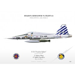 "F-5A ""Freedom Fighter"" Philippine TC-145"