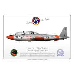 "Fouga CM.170 ""Super Magister"" 220  Ireland GM-03"