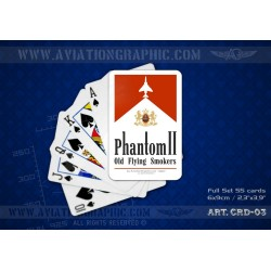 "POKER CARDS ""PHANTOM II"" CRD-03"
