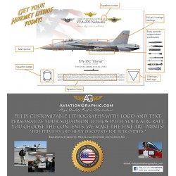 "Commissioning F/A-18C ""Hornet"" Squadron Lithos"