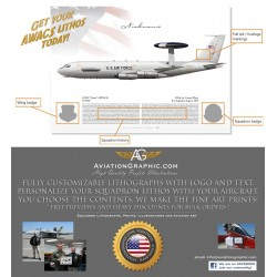 Commissioning E-3 Sentry Squadron Lithos