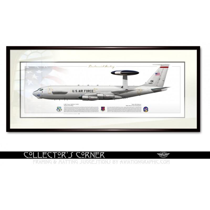 """E-3B """"Sentry"""" (AWACS) 964AACS JP-1604P"""
