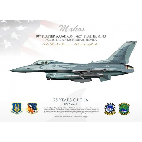 F-16C 482d FW 25 years special JP-1730