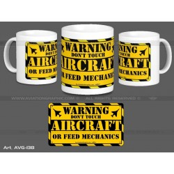 "MUG ""WARNING"" AVG-138"