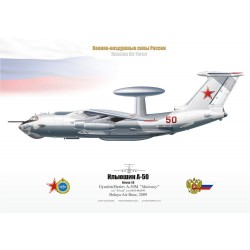 """A-50M """"Mainstay"""" 50 red TA-04"""