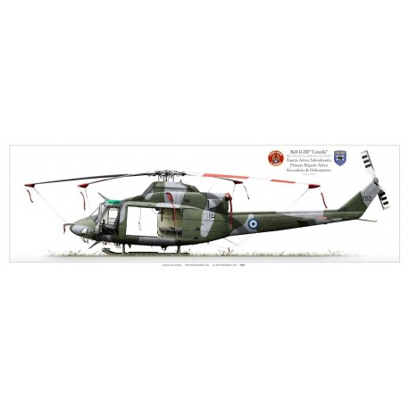 """Bell412EP """"Centella"""" FAS250 LC-17P"""