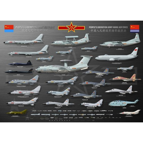 PLAAF & PLANAF collection TC-217