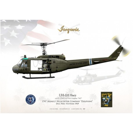 "UH-1H ""Iroquois/Huey"" 174th AHC LC-21"