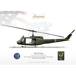 "UH-1H ""Iroquois/Huey"" 174th AHC LC-21B"