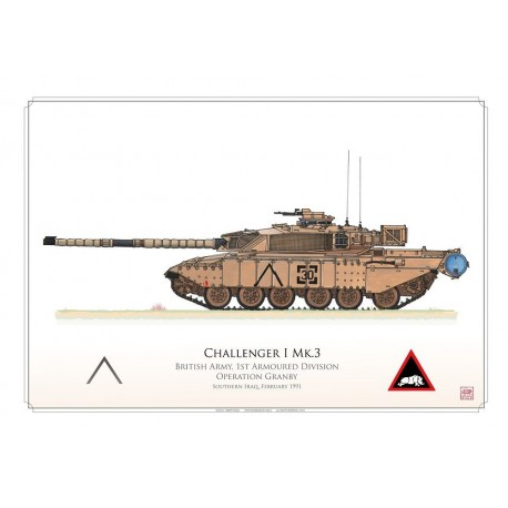 """Challenger 1 Mk.3 """"Aghroovey"""" HCP-07"""
