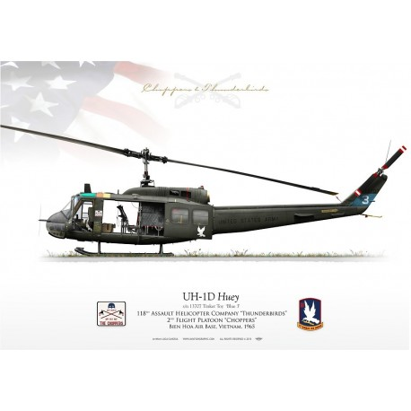 "UH-1D ""Huey"" 'Tinker Toy' 118 AHC LC-32"