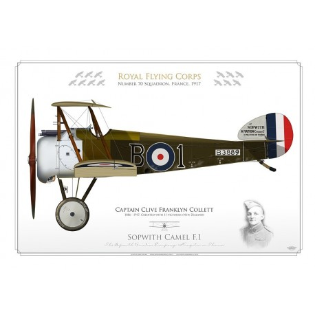 Sopwith Camel F.1 Capt. Collett MFU-25