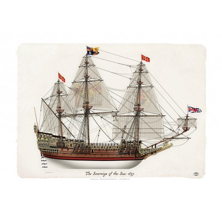 The Sovereign of the Seas 1637 MFU-39