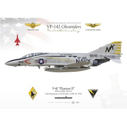"F-4J ""Phantom II"" VF-142 ""Ghostriders"" MB-88"