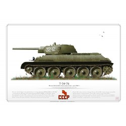 T-34-76 CCCP Red Army AR-25