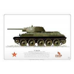 T-34-76 CCCP Red Army AR-26