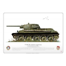 T-34-76 CCCP Red Army AR-27
