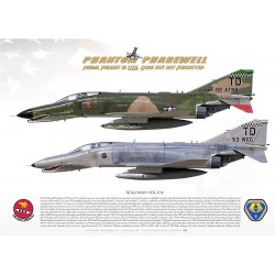 "QF-4E ""Phantom II"" PHANTOM PHAREWELL MB-101"