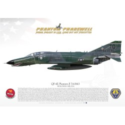 "QF-4E ""Phantom II"" PHANTOM PHAREWELL MB-103"