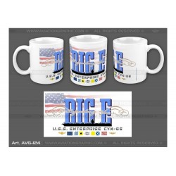 "MUG ""USS ENTERPRISE"" AVG-124"