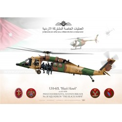"UH-60L ""Black Hawk"" Royal Jordanian SpecOps JP-1370"