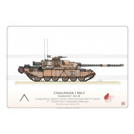 """Challenger 1 Mk.3 """"Aghroovey"""" HCP-06"""