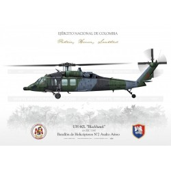 "UH-60L ""BlackHawk"" Colombia AG-14"