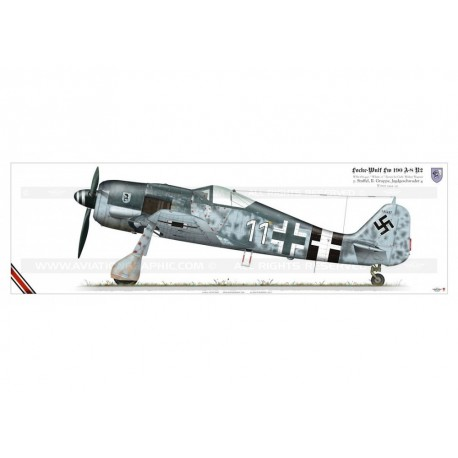 """Fw 190A-8 """"White 11"""" Wagner TK-04P"""