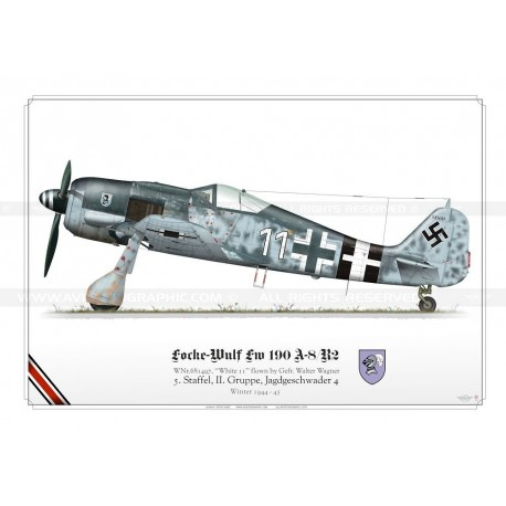 "Fw 190A-8 ""White 11"" Wagner TK-04"