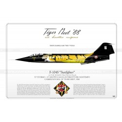 "F-104S ""Starfighter"" 56-06 Tiger Meet 88 JP-699"