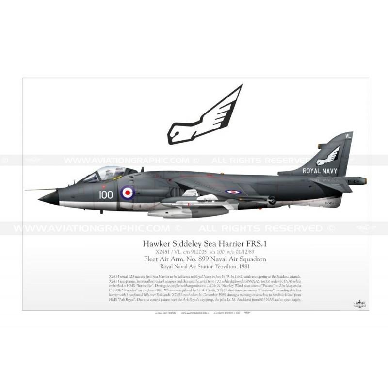 sea harrier frs 1 xz451 jp-463