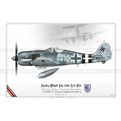 "Fw 190A-8 ""White 11"" Wagner TK-03"