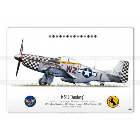 """P-51D """"Mustang"""" WZ-I """"Contrary Mary"""" BE-05"""