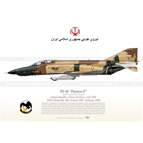 "RF-4E ""Phantom II"" 2-6510 IRIAF TC-96"