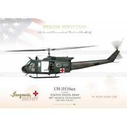 "UH-1H ""HUey"" 348th Medical Detachment USARMY JP-1433"