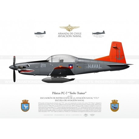 "PC-7 ""Turbo Trainer"" 211 Chile LW-91"
