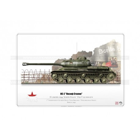 "IS-2 ""Joseph Stalin"" CCCP Red Army KP-026"