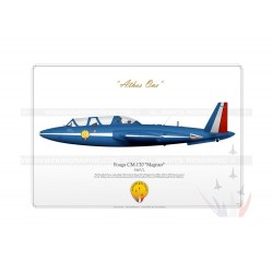 "Fouga ""Magister"" Patrouille de France GM-01"