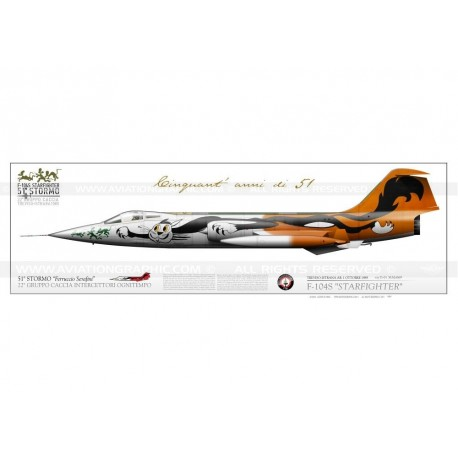 """F-104S """"Starfighter"""" special 51°St LW-063"""