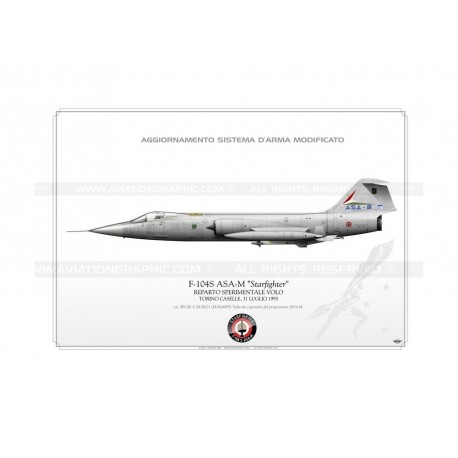 "F-104S ASA-M ""Starfighter"" RS-06 LW-075"