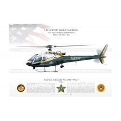 "AS350 B2 ""AStar"" N72LC LEE SHERIFF JP-1216"