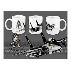 "MUG ""JOLLY ROGERS VF-103"" AVG-050"