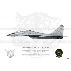 "MiG-29UB ""Fulcrum"" Slovak Air Force KB-06"