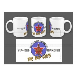 "MUG ""THE BAD GUYS, VF-126"" AVG-046"