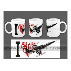 "MUG ""I ❤ STARFIGHTER"" AVG-037"